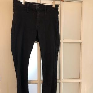 Black Abercrombie and Fitch jeans